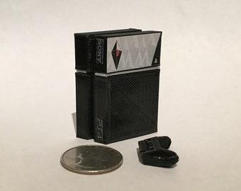 Mini Sony Playstation 4 No Man's Sky Edition - 3D Printed!