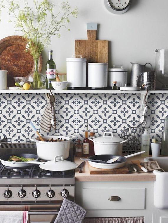 Tile Decals Tiles for KitchenBathroom Back splash Floor
