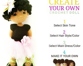 CREATE YOUR OWN Crochet Doll