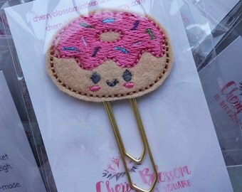 Kawaii Cute Donut Paper Clip