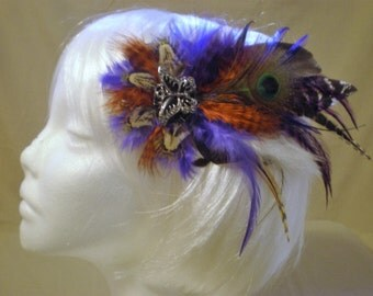 Welcome To The Jungle Feather Hair Piece