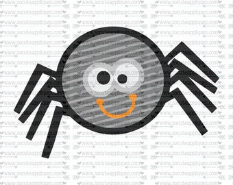 SVG, DXF, EPS cutting file, spider svg, Happy Halloween svg, spooky spider svg, spiderweb svg, socuteappliques, scrapbooking file