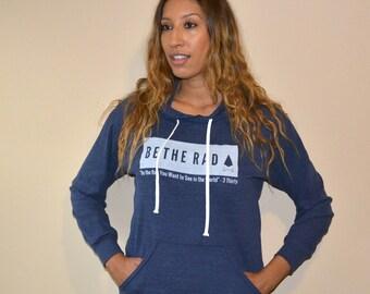 BE THE RAD hoodie - Blue