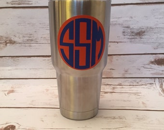 Personalized Insulated Cup Decals