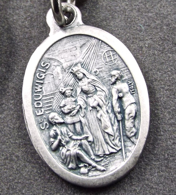 Patron St Brides Widows Difficult Marriages St Hedwig Medal St