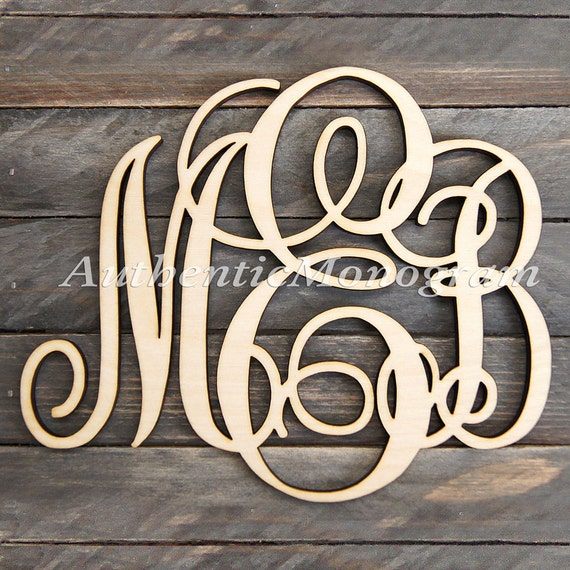 wood letters for wall wooden monogram wall letters unpainted monogram wall hanging 25668
