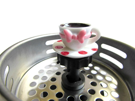 Sink strainer home decor drain plug water by accessoriesbyash - Decorative kitchen sink strainers ...