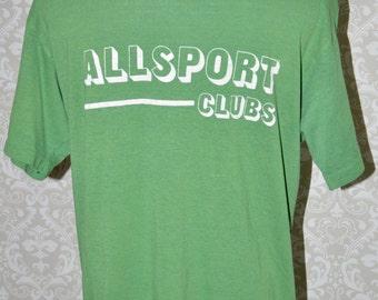 Vintage Allsport Clubs Shirt Large