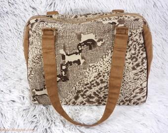 Corduroy handbag No 2