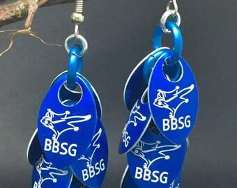 Sugar Glider Chain Mail Earrings