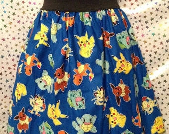 SALE EVENT Pokemon Blue Skirt