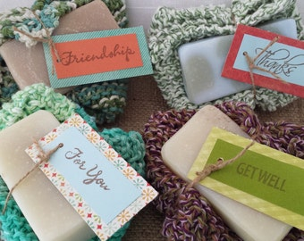Washcloth & Soap Set