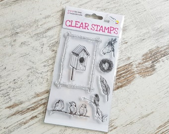 """Clear stamps """"birdhouse"""""""