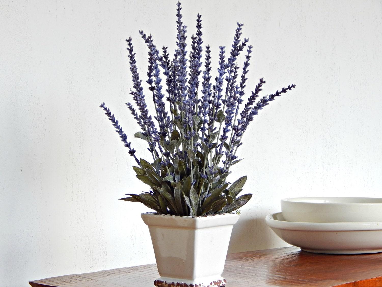 Lavender Flower Arrangement Artificial Flowers Lavender