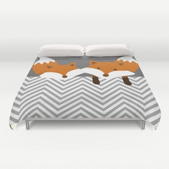 le renard housse de couette personnalis e couleur full. Black Bedroom Furniture Sets. Home Design Ideas