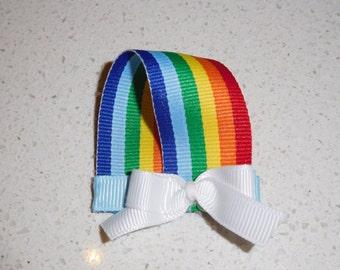 Rainbow Hair Clip - Hair Bow