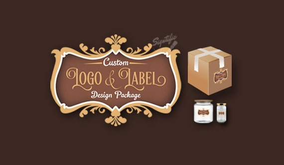 Custom logo and product label design package professional label branding design for products, candle jar label design, soap label design