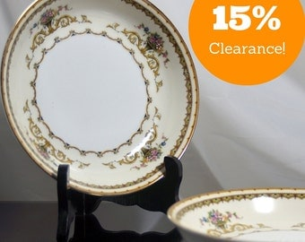 Vintage 1921 Coup Bowls, set of 2 Noritake Carltonia --CLEARANCE--
