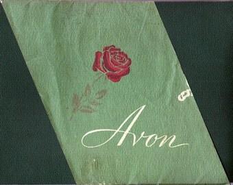 Vintage 1950-51 The Friendly Avon Representative Catalog