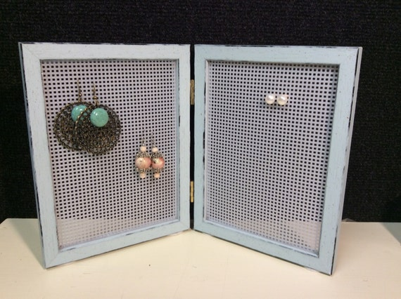 Earring Storage Earring Frame Earring Display Double By