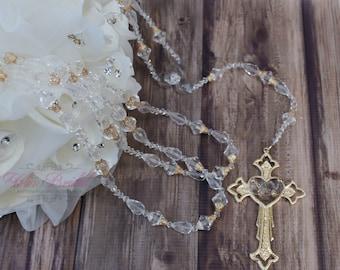 Beautiful Wedding Lasso, Gold Wedding Lasso, Silver wedding lasso