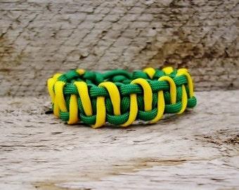 Paracord Survival Bracelet with Advance Solomon Weave, Parachute Cord Bracelet, Mens Womens Kids Para Cord Bracelet