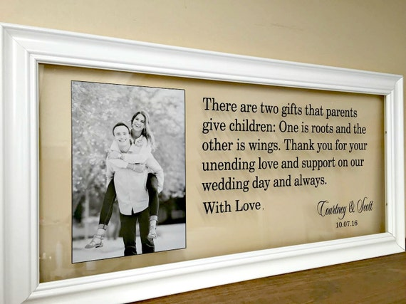 Wedding Gifts For Brides Parents : ... Gift Wedding Mother of the Bride Gift Gifts for Parents Father of the