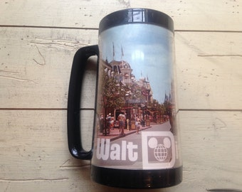 WDW Main Street Thermo Serv Vintage Mug Excellent Condition