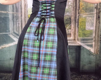 Highland WhmZcoat for Scottish Dancing * Celtic * Clans * Tartan * Outlander * Made to Order