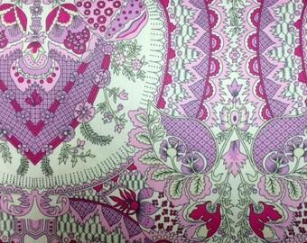 "Amy Butler Alchemy (Berry) 60"" wide 100% Cotton Premium Quilt Fabric-Per 1/2 Yard"