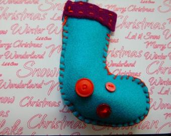 Super soft Christmas stocking - hanging decoration