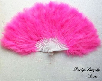 Stunning feather fan Bridal Bouquet 10 colors