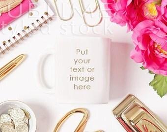 Mock Up / Mug Mock Up / Blank Mug / Product Styling / Product Mock up / Styled Stock Photography / Coffee Cup / StockStyle-676