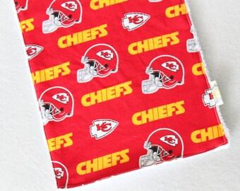 Kansas City Chiefs  White 3-Piece Burp & Bib Set