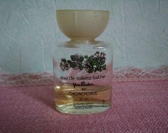 Miniature vintage, bottle of round perfume, Eau de Toilette, 30 ml, Made in France