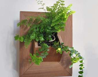 Vertical Planter - Vertical Garden - Wood Planter - Indoor Planter - Outdoor Planter - Wall Planter - Vertical Wood Planter- Hanging Planter