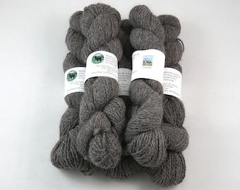Alpaca Yarn, Sport Weight, Silver Gray