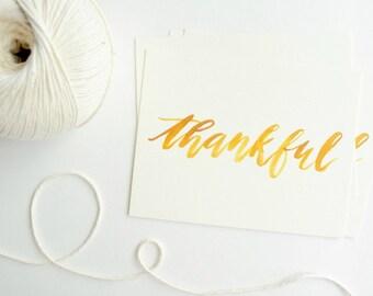 Thankful Postcards - Set Of Four