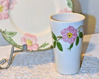 FRANCISCAN WARE Desert Rose 6oz. Tumbler, Replacements, Vintage Mid-Century, Made in USA
