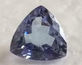 6mm Trillion Cut Tanzanite Loose Gemstone
