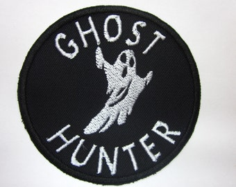 Ghost Hunter Iron on  Patch