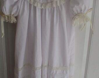 Heirloom Portrait, FLower Girl, or Pageant Collar Dress