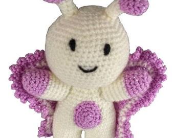 Flutterby the Butterfly - Crochet Pattern (PDF)