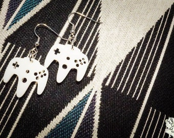 Small Game Controller Earrings