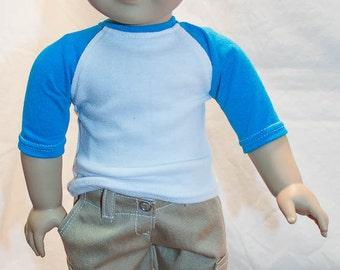 """18inch boy doll khaki cargo shorts / For American boy dolls / 18"""" boy doll Khaki cargo shorts / Cargo shorts for American Boy dolls"""