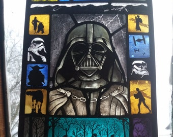 Star Wars Stained Glass.