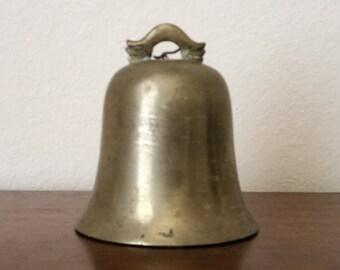 Vintage Large Brass Bell