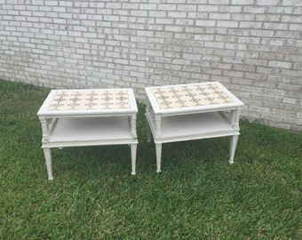 table solid wood, painted furniture, home decor, shabby shic, vintage painted furniture ,living room side table,table,