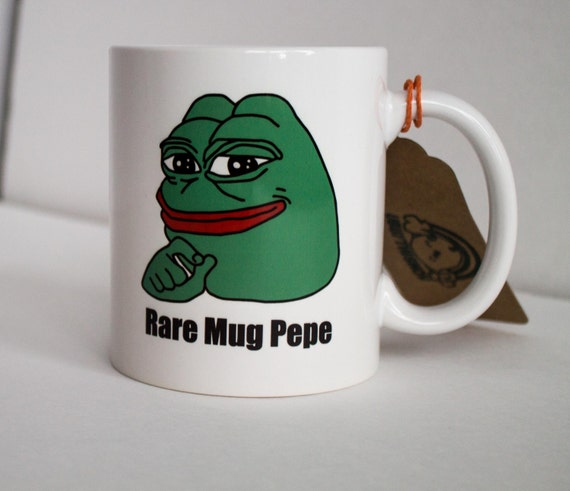 il_570xN.866240376_bjaf rare pepe pepe the frog coffee mug pepe the frog cup meme,Meme Coffee Mugs