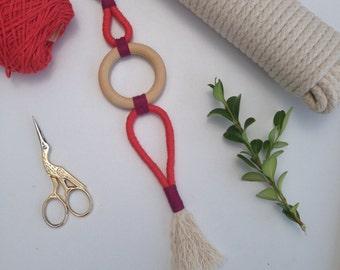 """Rope Art Tassel """"Iona"""""""